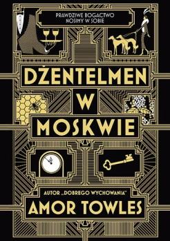 Dżentelmen w Moskwie Obálka knihy