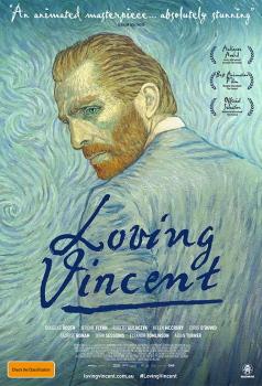 Loving Vincent Obálka knihy