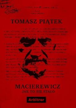 Macierewicz jak to się stało Obálka knihy
