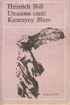 Utracona cześć Katarzyny Blum Obálka knihy