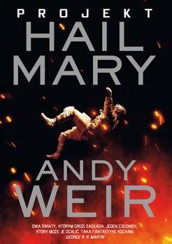 Projekt Hail Mary Obálka knihy
